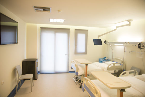 Patientenzimmer Privatklinik Tsepeti